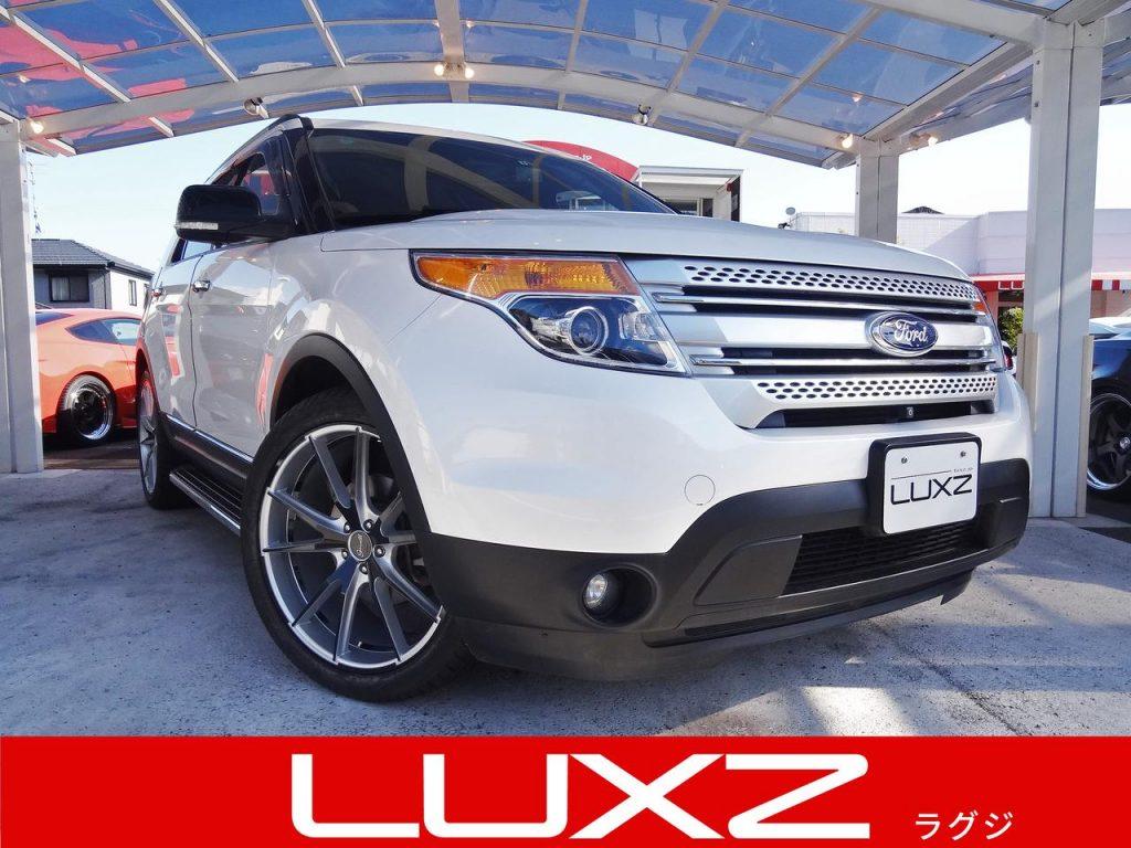フォード エクスプローラー XLT エコブースト ワンオーナー車 2013年モデル