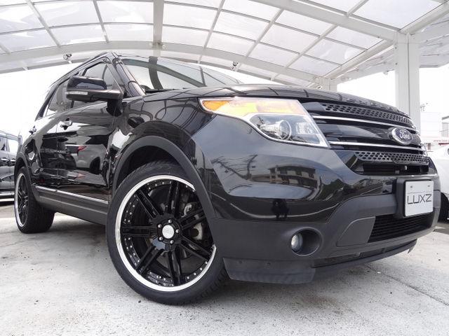 フォード エクスプローラー XLT エコブースト 2013年モデル  黒